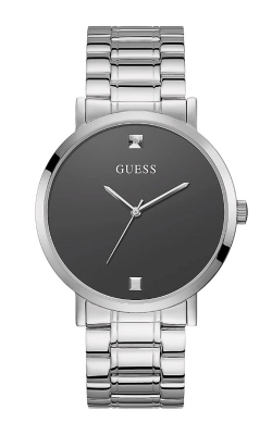 Guess Men's Silver Tone Stainless Steel Watch U1315G1 product image
