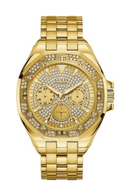 Guess Gold-Tone Rhinestone Multifunction Watch U1317G1 product image