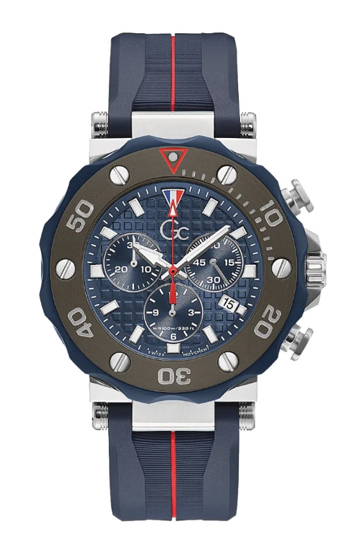 Guess Men's GC Silicone Chrono Diver Y63005G7MF product image