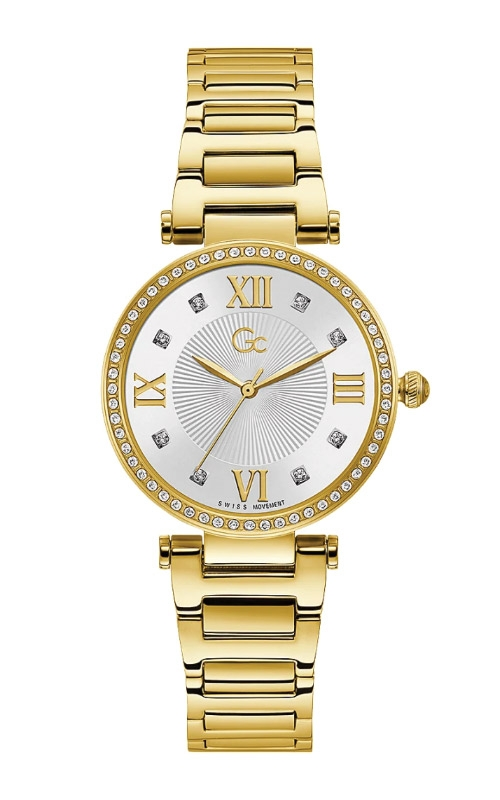 Guess Ladies Gc LadyCrystal Mid Size Watch Y64003L1MF product image
