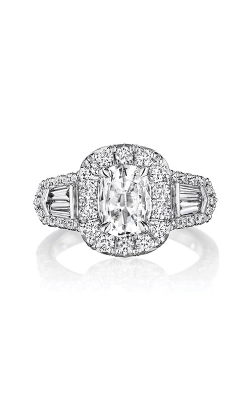 Henri Daussi Collection Daussi Cushion Engagement ring ACBG product image