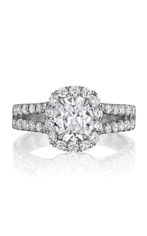 Henri Daussi Collection Daussi Cushion Engagement ring AU product image