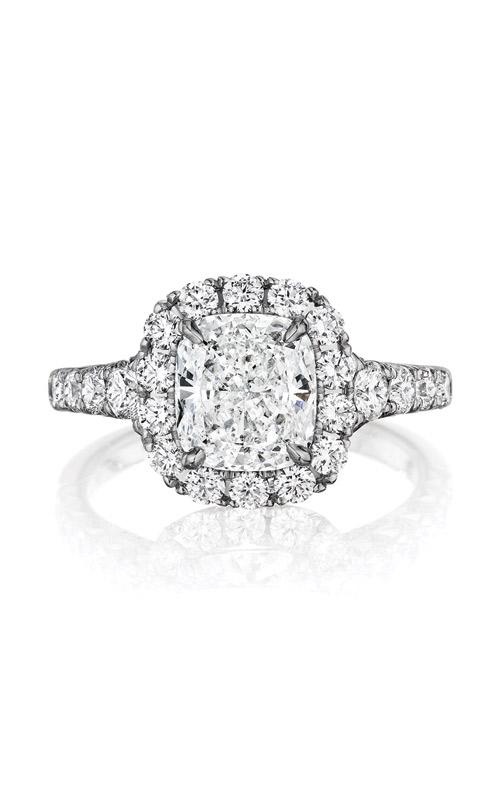 Henri Daussi Collection Daussi Cushion Engagement ring AV product image