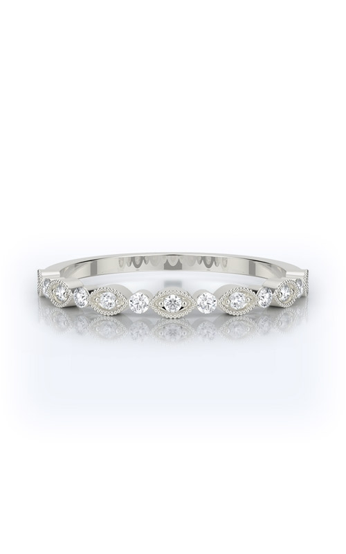 Henri Daussi Collection Women's Wedding Bands Wedding band R26-1H product image