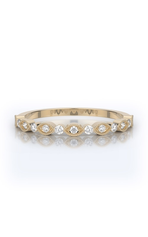 Henri Daussi Collection Women's Wedding Bands Wedding band R26-3H product image
