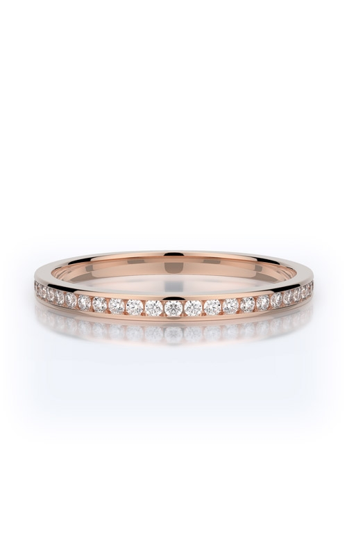 Henri Daussi Collection Women's Wedding Bands Wedding band R27-2H product image