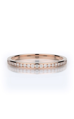 Henri Daussi 14k Rose Gold .10ctw Pave Band R27-2H product image