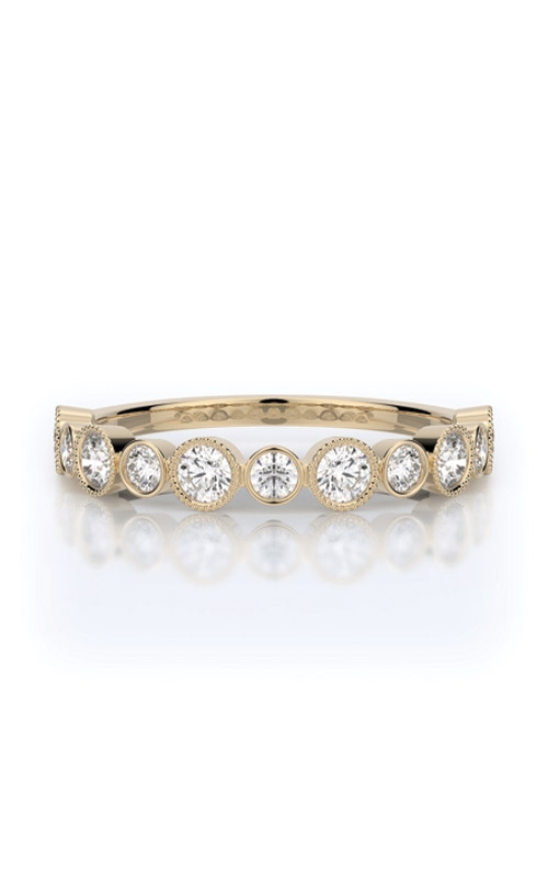 Henri Daussi Collection Women's Wedding Bands Wedding band R28-8H product image