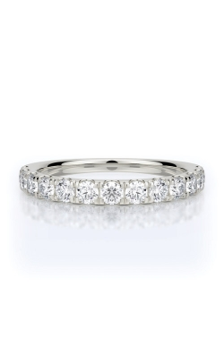 Henri Daussi Platinum .70ct Diamond Wedding Band R2-1H product image