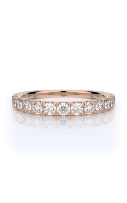 Henri Daussi 14k Rose Gold .70ctw Wedding Band R2-7H product image