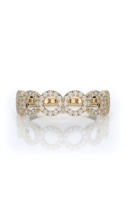 Henri Daussi 14k Yellow Gold .35ctw Diamond Band R33-3H product image