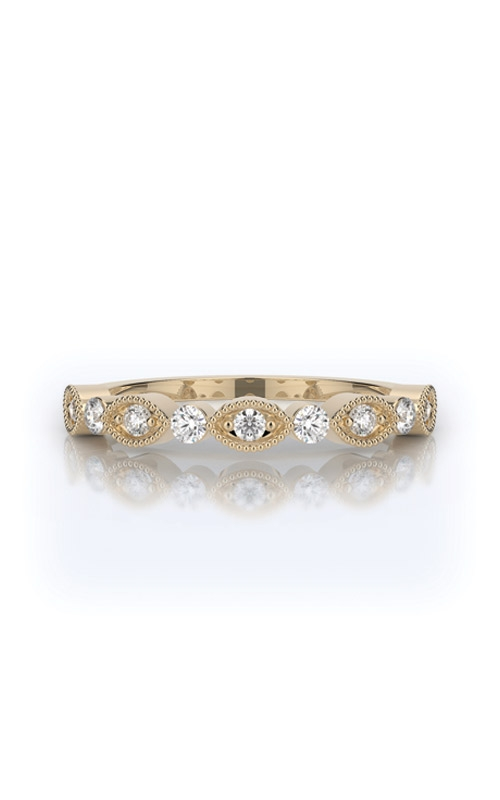 Henri Daussi Collection Women's Wedding Bands Wedding band R37-3H product image