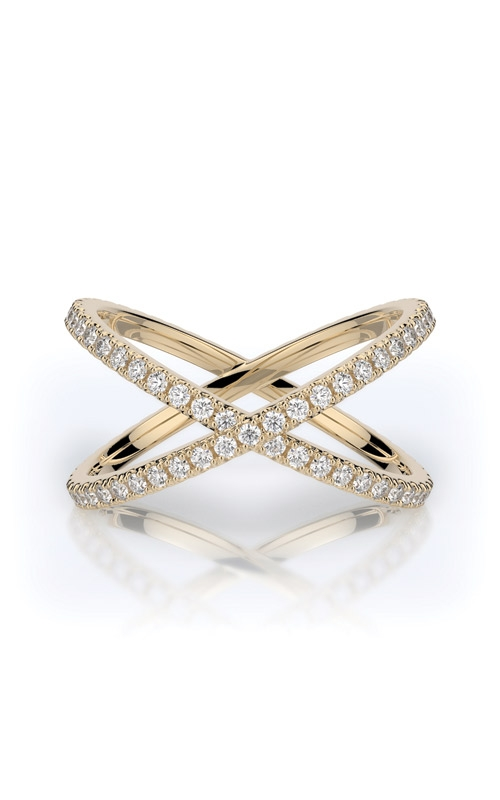 Henri Daussi Collection Women's Wedding Bands Wedding band R38-3E product image