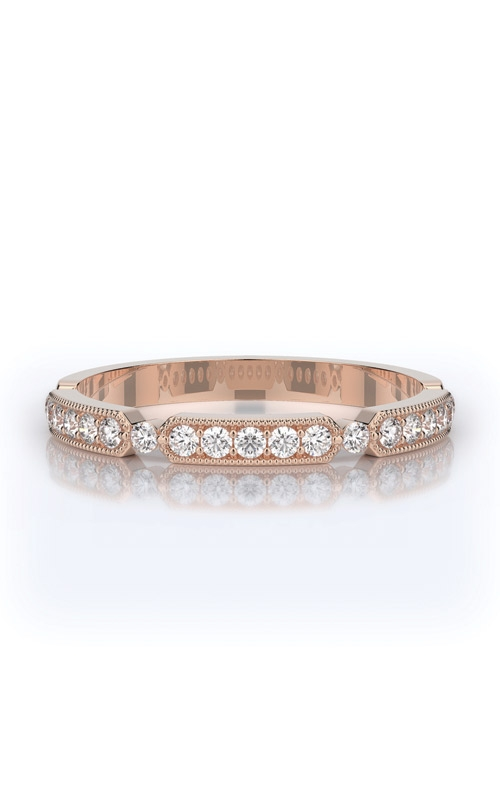 Henri Daussi Collection Women's Wedding Bands Wedding band R44-2H product image
