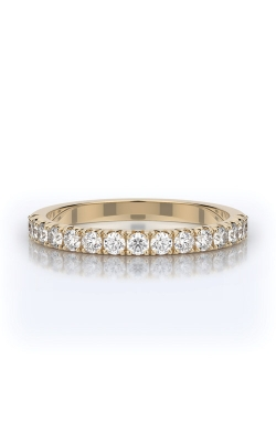 Henri Daussi 14k Yellow Gold .45ctw Diamond Wedding Band YWBSR product image