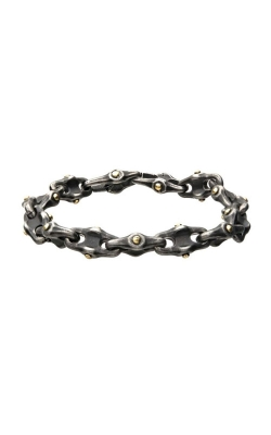 Inox Stainless Steel Distressed Mariner Chain Bracelet BRB2218 product image