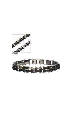 Inox Stainless Steel Reversible Link Bracelet BRDDS13GP product image