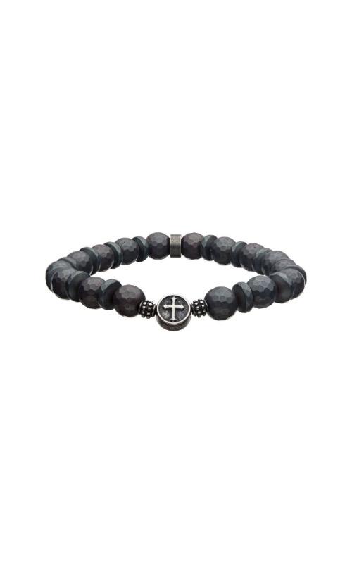 Inox 10mm Hermatite Stone Bracelet BREL001S product image