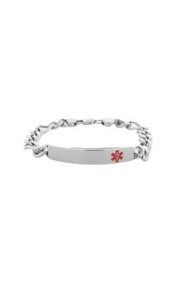 Inox Ladies Steel Medical Alert Bracelet BRFIGMA product image