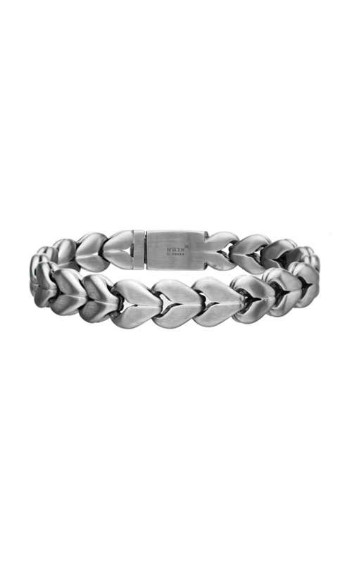 Inox Matte Double Colossi Chain Bracelet BRSTDB4M-85 product image
