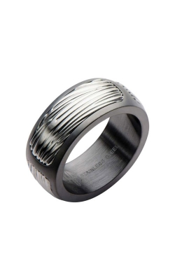Inox Stainless Steel Gunmetal Eagle Ring HBFR2741-10 product image