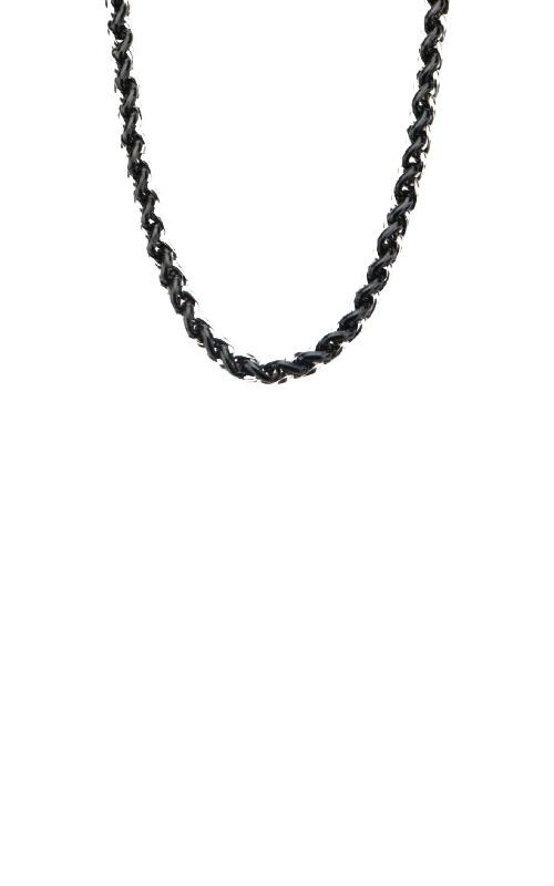 Inox Black Steel Link Chain NSTC8228K-24 product image