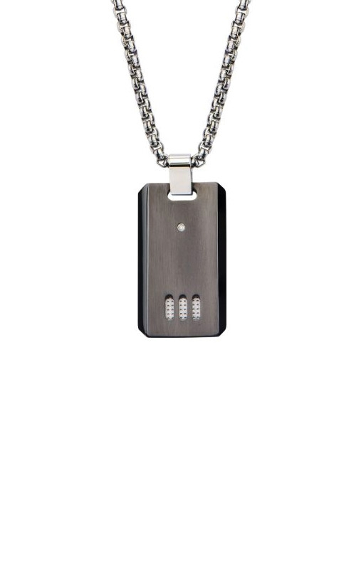 Inox Stainless Steel Gunmetal Dog Tag SSP102615NK1 product image