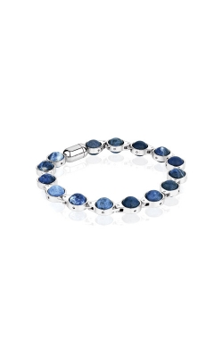 Italgem Steel Stainless Steel Blue Tiger Eye Bracelet BB-148 product image