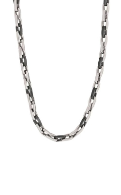 Italgem Steel Stainless Steel and Black 24 in Link Chain SBWN product image