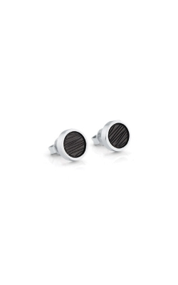 Italgem Steel Stainless Steel Brushed Stud Earrings SEA195 product image