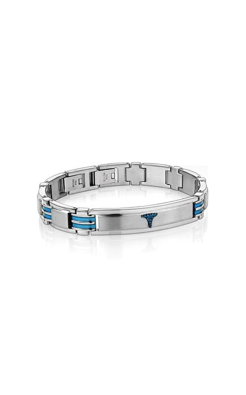Italgem Steel Stainless Steel Medical ID Bracelet SMAB54 product image