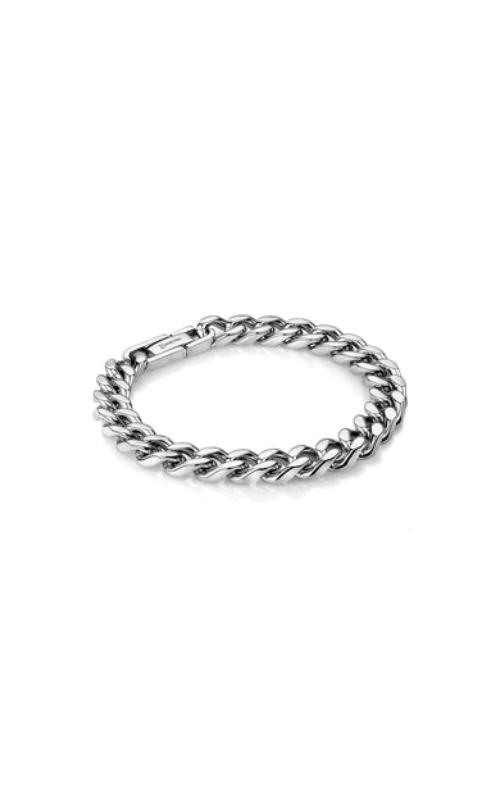Italgem Steel Curb Link Chain Bracelet SMB306 product image
