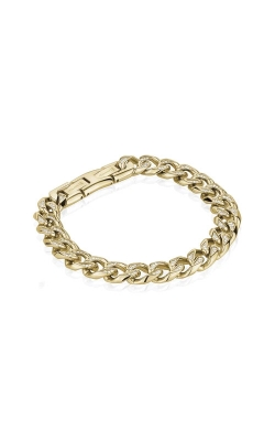 Italgem Steel Stainless Steel Curb Chain Bracelet SMB322 product image