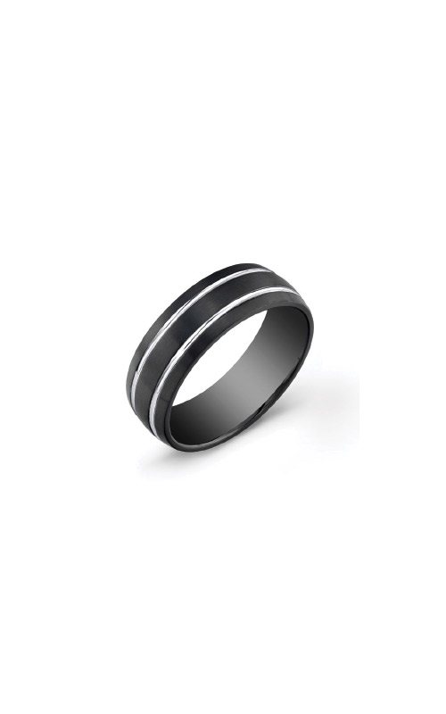 Italgem Steel Stainless Steel Black Band - SIZE 9 SMR11-9 product image
