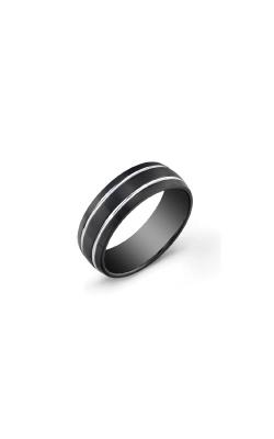 Italgem Steel Stainless Steel Black Band - SIZE 9 SMR11-9 product image