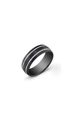 Italgem Steel Stainless Steel Black Band - SIZE 10 SMR11-10 product image