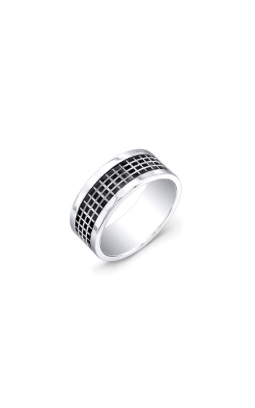 Italgem Steel Stainless Steel and Black Band - SIZE 10 SMR12 - 10 product image