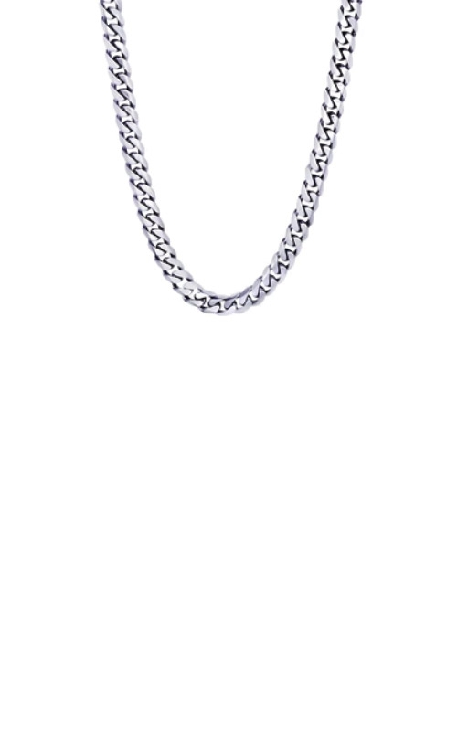 Italgem Steel Stainless Steel Cubano 22 inch 7.7mm Curb Chain SN13 product image
