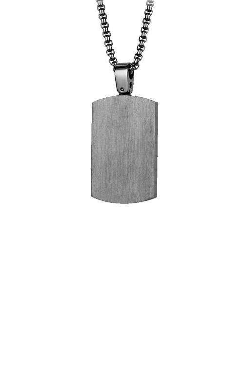 Italgem Steel Stainless Steel Gunmetal Dog Tag SP167 product image
