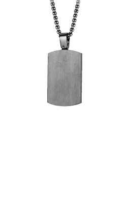 Italgem Steel Stainless Steel Gunmetal Dog Tag SP167 product image