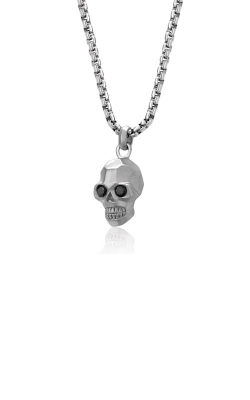 Italgem Steel Stainless Steel Skull Necklace SP95 product image
