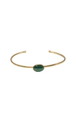 Kabana 14k Yellow Gold Malachite Bangle Bracelet GBRC531ML product image