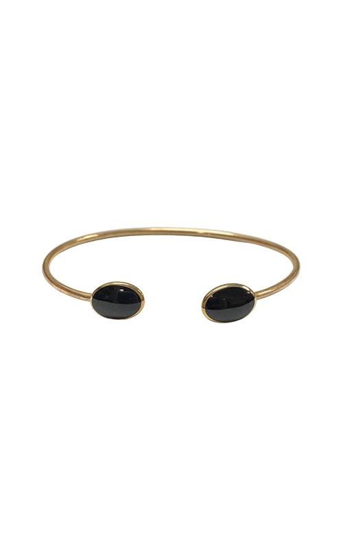 Kabana 14k Yellow Gold Onyx Bangle Bracelet GBRC530OX product image