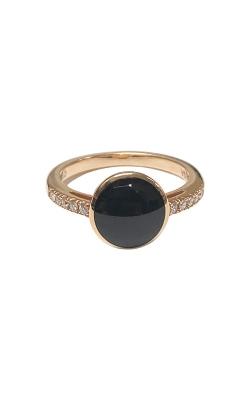 Kabana 14k Rose Gold Onyx Ring NRIF649OX product image