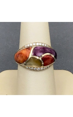 Kabana 14k Yellow Gold Mother Of Pearl & Spiny Ring GRIF299MMS product image