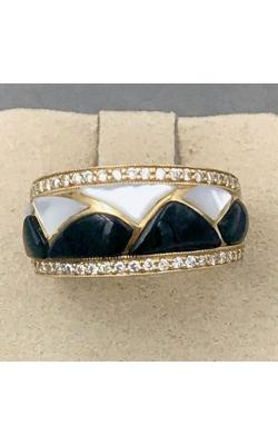 Kabana 14k YG MOP & Onyx Ring - GRIF267OXMW product image