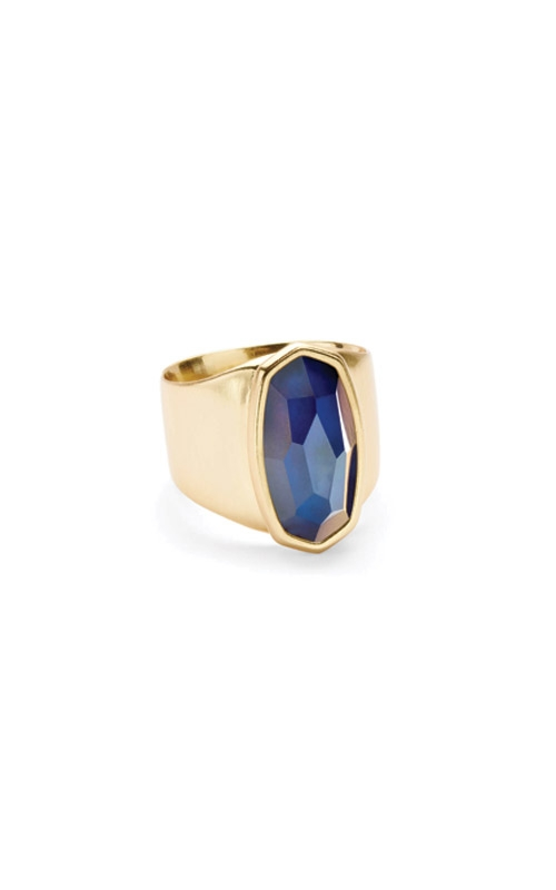 Kendra Scott Leah Mood Ring In Gold 4217700890 - Size 7 product image