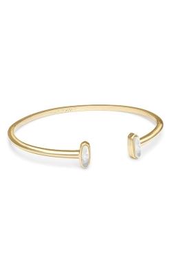 Kendra Scott Mavis Gold Cuff Bracelet In Ivory Pearl 4217701000 product image