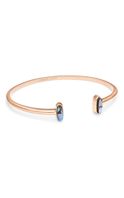 Kendra Scott Mavis Rose Gold Cuff Bracelet In Abalone Shell 4217701001 product image