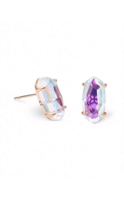 Kendra Scott Betty Rose Gold Dichroic Glass Earrings 4217701160 product image